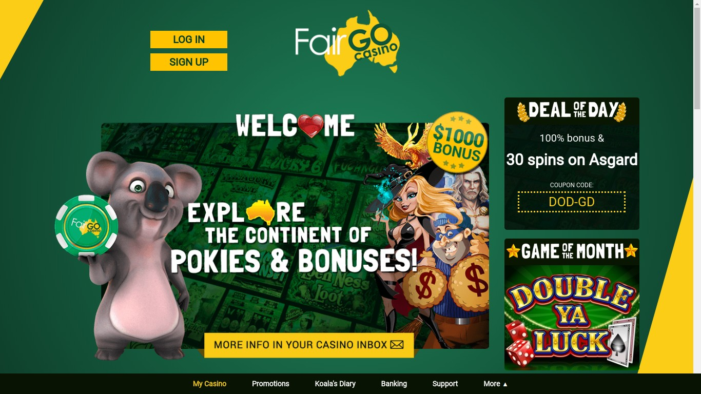 Fair Go Casino Reviews
